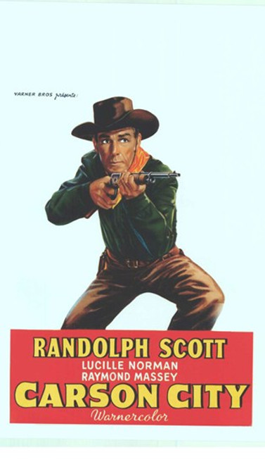 Carson City Movie Poster (11 x 17) - Item # MOV412500