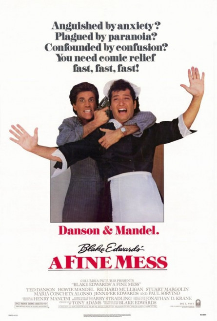 A Fine Mess Movie Poster Print (27 x 40) - Item # MOVEH0259