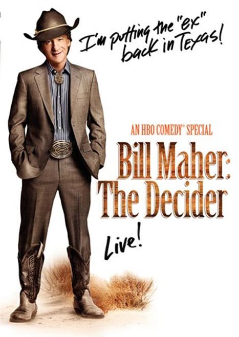 Bill Maher The Decider Movie Poster (11 x 17) - Item # MOV414719
