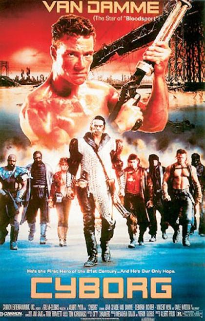 Cyborg Movie Poster (11 x 17) - Item # MOVNSP10103