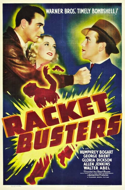 Racket Busters Movie Poster Print (27 x 40) - Item # MOVGB34880