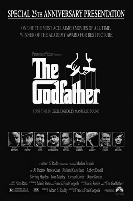 The Godfather Movie Poster (11 x 17) - Item # MOV415793