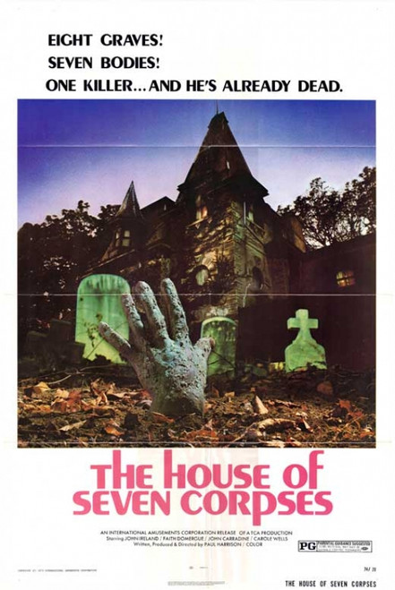 The House of Seven Corpses Movie Poster Print (27 x 40) - Item # MOVCB06880