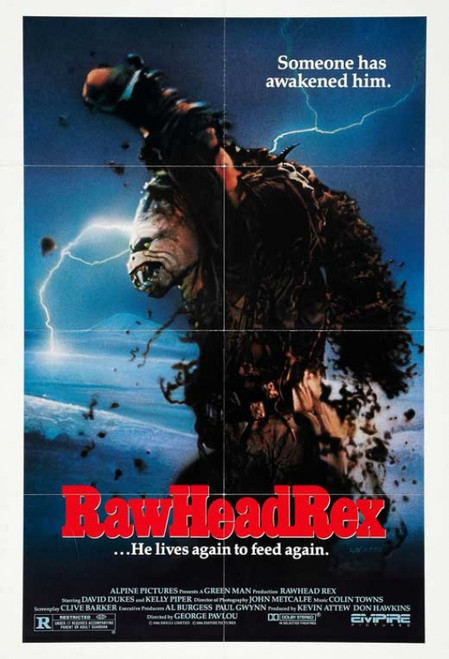 RawHeadRex Movie Poster Print (27 x 40) - Item # MOVIB44880