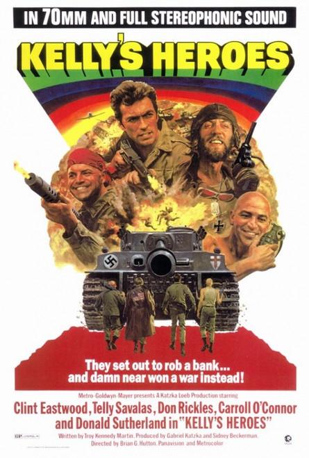 Kelly's Heroes Movie Poster Print (27 x 40) - Item # MOVAF9182