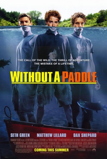 Without a Paddle Movie Poster (11 x 17) - Item # MOV220626