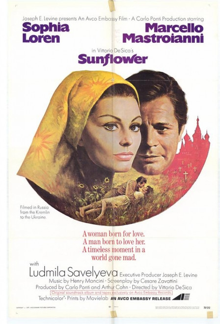 Sunflower Movie Poster Print (27 x 40) - Item # MOVGH2312