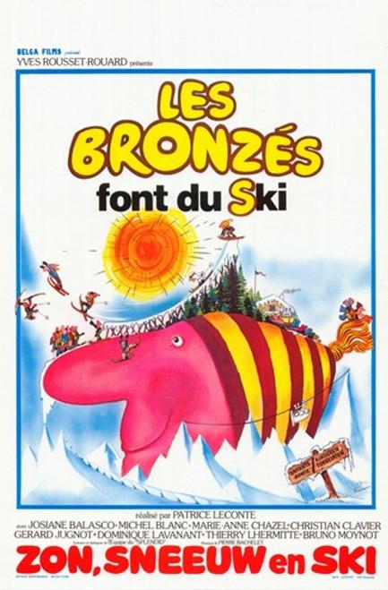 Les Bronzs font du ski Movie Poster (11 x 17) - Item # MOV361026