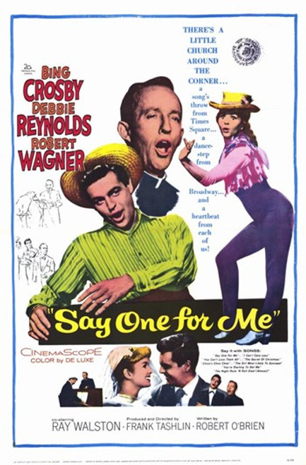 Say One For Me Movie Poster (11 x 17) - Item # MOV257635