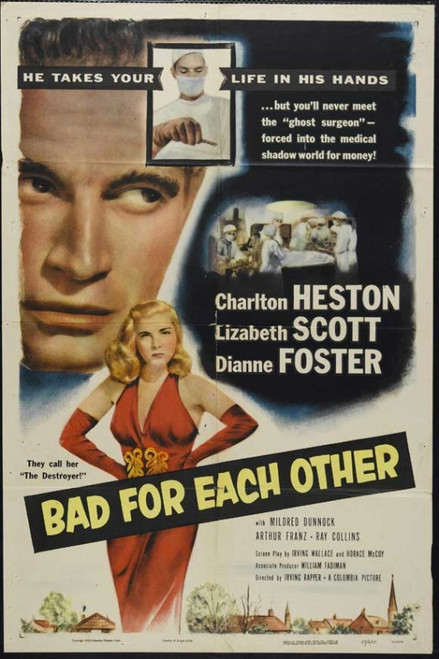 Bad for Each Other Movie Poster Print (27 x 40) - Item # MOVIJ9701
