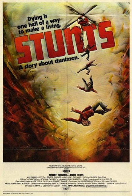 Stunts Movie Poster (11 x 17) - Item # MOV248619
