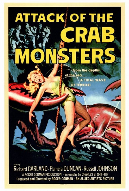 Attack of the Crab Monsters Movie Poster Print (27 x 40) - Item # MOVGF2183