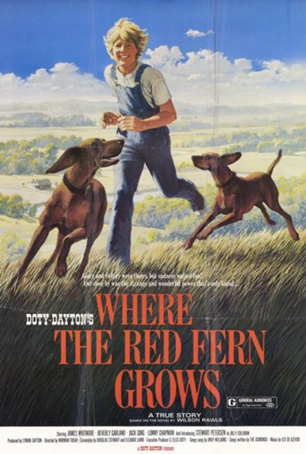 Where the Red Fern Grows Movie Poster (11 x 17) - Item # MOV365236