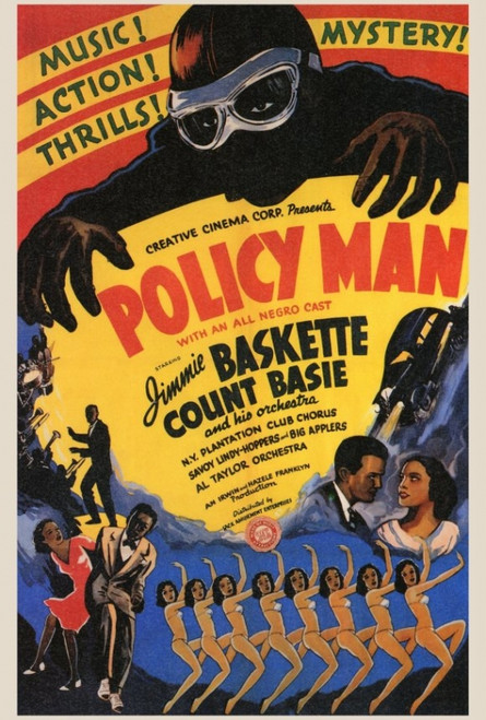 Policy Man Movie Poster Print (27 x 40) - Item # MOVAF3331