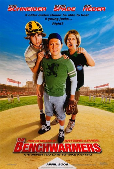 The Benchwarmers Movie Poster (11 x 17) - Item # MOV340578