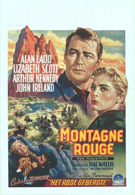 Red Mountain Movie Poster (11 x 17) - Item # MOV412696