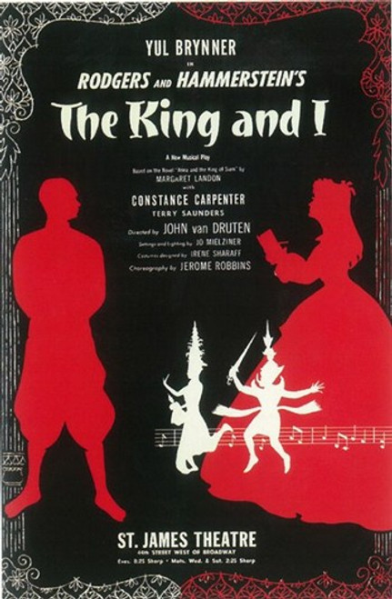 The King And I (Broadway) Movie Poster (11 x 17) - Item # MOV407343