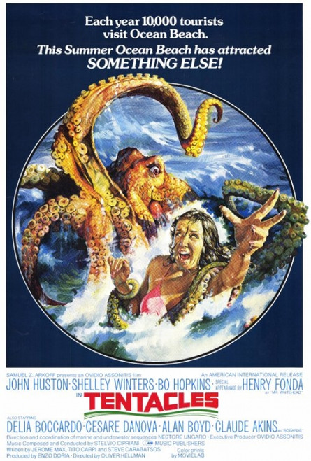 Tentacles Movie Poster Print (27 x 40) - Item # MOVEF3435