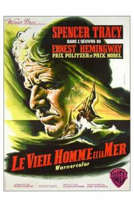 The Old Man and the Sea Movie Poster (11 x 17) - Item # MOV242332