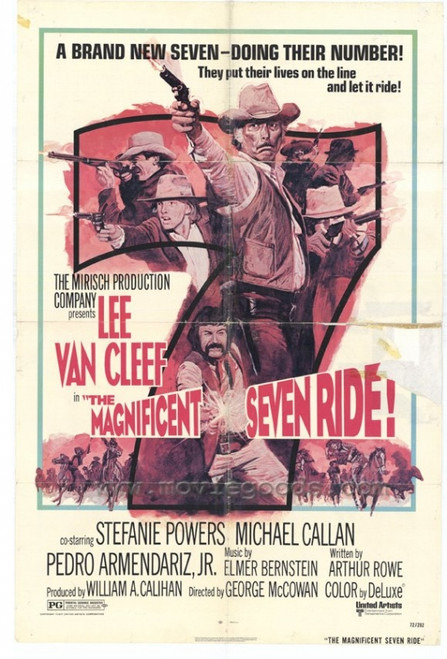 The Magnificent Seven Ride Movie Poster Print (27 x 40) - Item # MOVEH7343