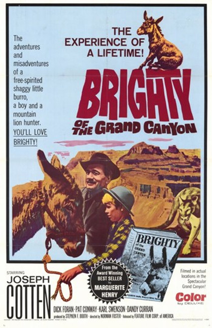 Brighty of the Grand Canyon Movie Poster (11 x 17) - Item # MOV207661