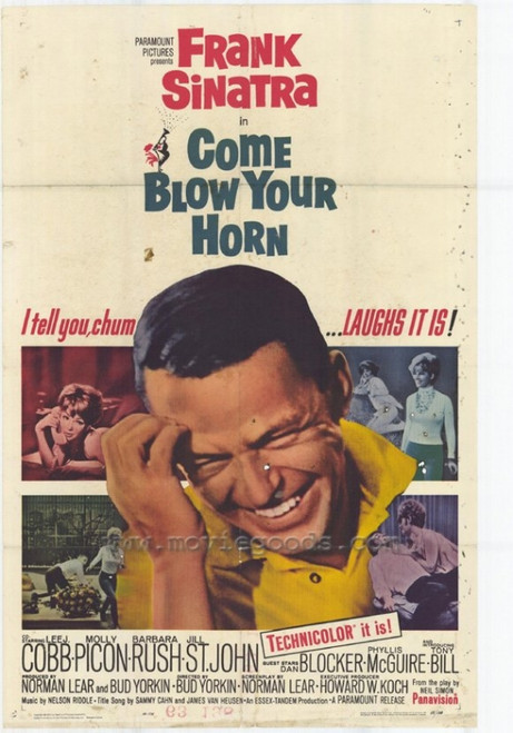 Come Blow Your Horn Movie Poster Print (27 x 40) - Item # MOVCF6432