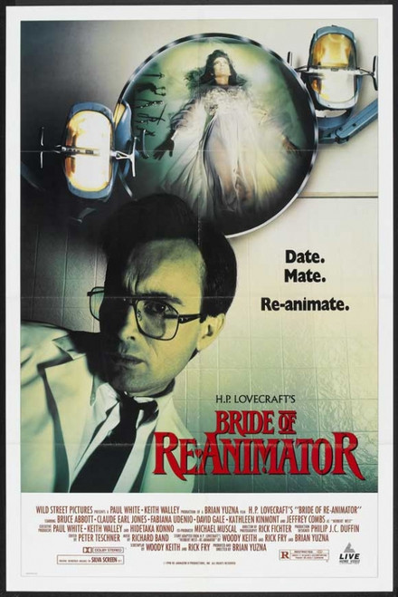 Bride of Re-Animator Movie Poster Print (27 x 40) - Item # MOVAH0360