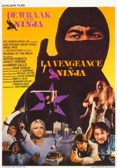 Revenge of the Ninja Movie Poster (11 x 17) - Item # MOV364843