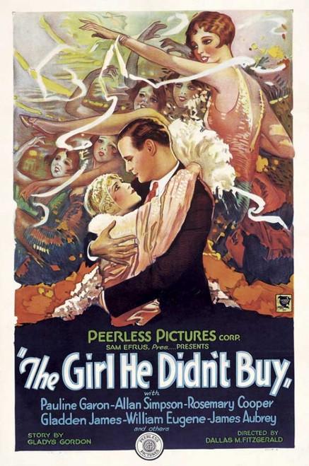 The Girl He Didn't Buy Movie Poster Print (27 x 40) - Item # MOVGI7728