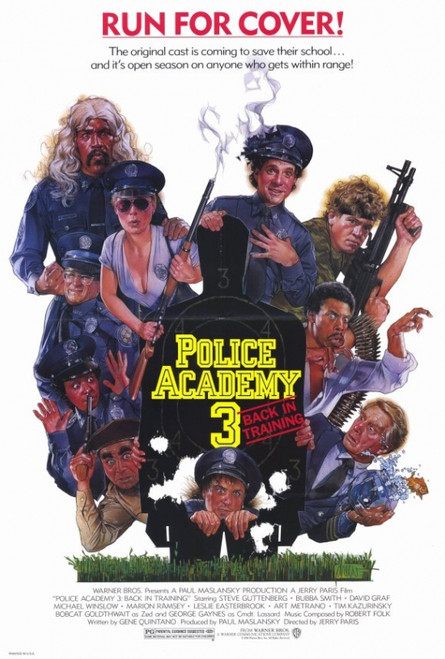 Police Academy 3: Back in Training Movie Poster Print (27 x 40) - Item # MOVEF6312