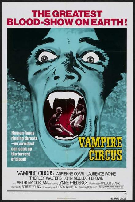 Vampire Circus Movie Poster Print (27 x 40) - Item # MOVEJ2658
