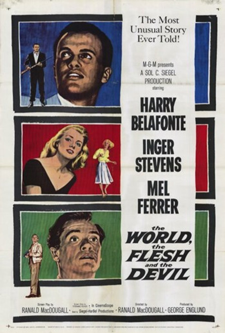 the Flesh and the Devil World Movie Poster (11 x 17) - Item # MOV206605
