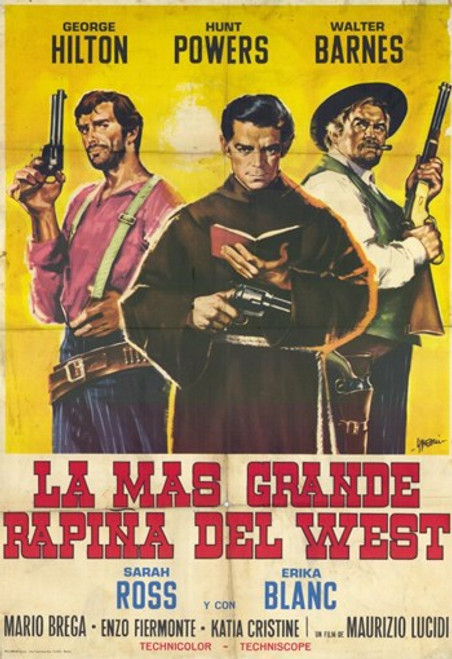 The Greatest Robbery in the West Movie Poster (11 x 17) - Item # MOV228560