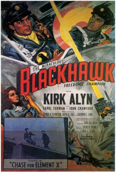 Blackhawk Movie Poster Print (27 x 40) - Item # MOVIF7332