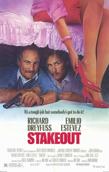 Stakeout Movie Poster (11 x 17) - Item # MOV213070