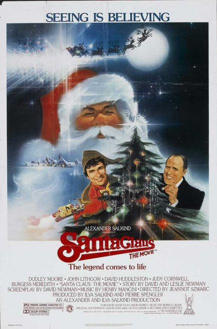 Santa Claus: The Movie Movie Poster Print (27 x 40) - Item # MOVCB72050