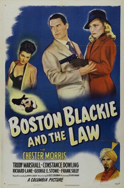 Boston Blackie and the Law Movie Poster Print (27 x 40) - Item # MOVIB78711
