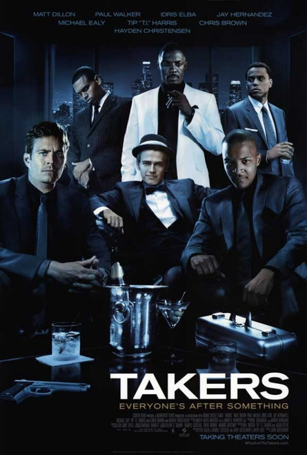 Takers Movie Poster Print (27 x 40) - Item # MOVEB01130