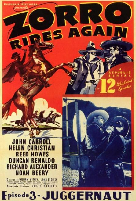 Zorro Rides Again Movie Poster Print (27 x 40) - Item # MOVGF4299