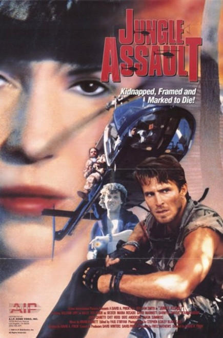 Jungle Assault Movie Poster (11 x 17) - Item # MOV247996