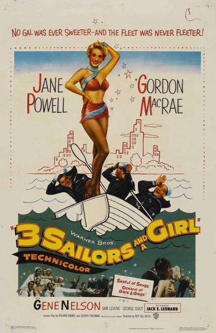Three Sailors and a Girl Movie Poster Print (27 x 40) - Item # MOVIJ3191