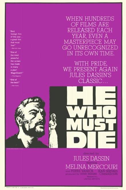 He Who Must Die Movie Poster (11 x 17) - Item # MOV228171
