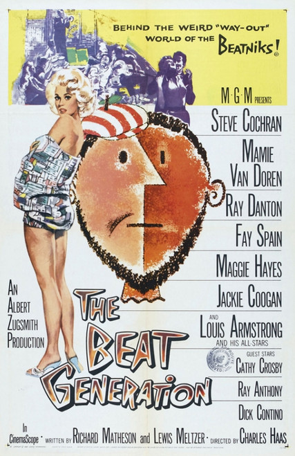 The Beat Generation Movie Poster Print (27 x 40) - Item # MOVCI3322