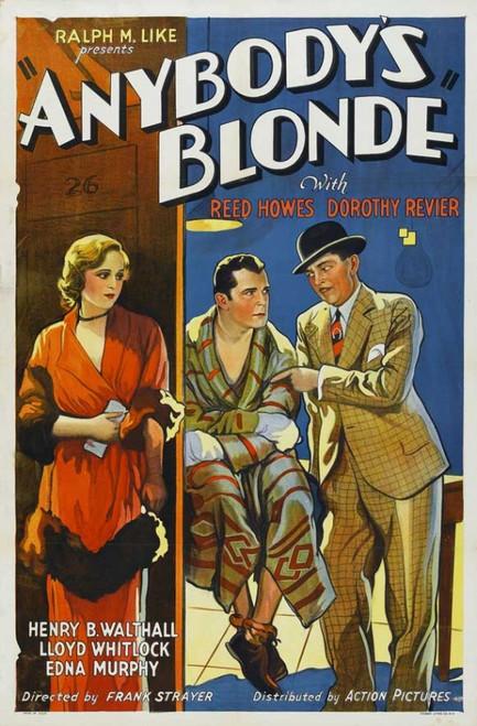 Anybody's Blonde Movie Poster Print (27 x 40) - Item # MOVEI2726