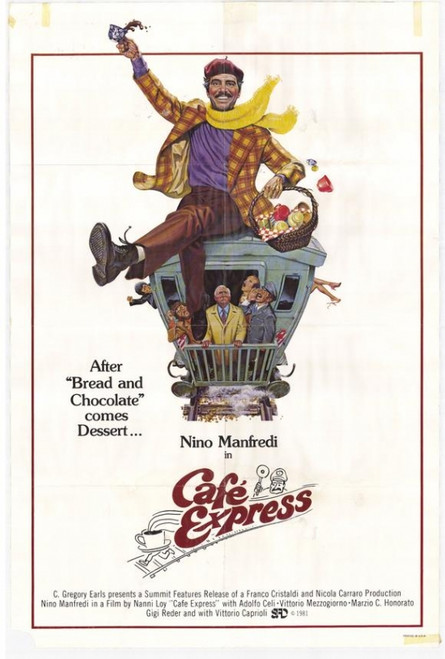 Cafe Express Movie Poster Print (27 x 40) - Item # MOVGG1889