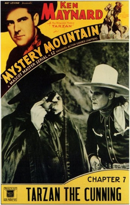 Mystery Mountain Movie Poster (11 x 17) - Item # MOV200625