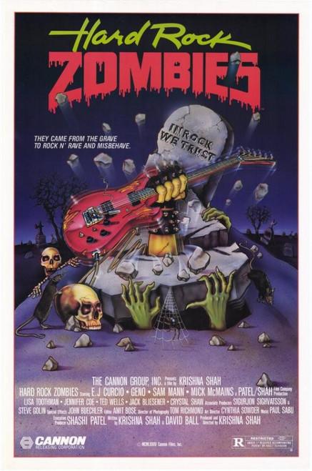 Hard Rock Zombies Movie Poster Print (27 x 40) - Item # MOVCF1395