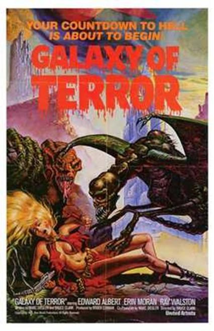 Galaxy of Terror Movie Poster (11 x 17) - Item # MOV197230