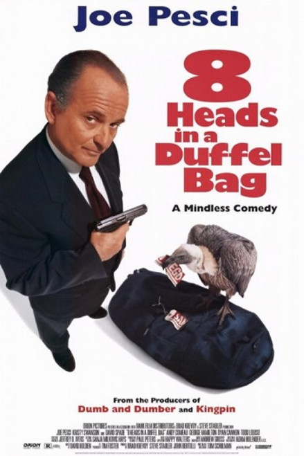 8 Heads in a Duffel Bag Movie Poster (11 x 17) - Item # MOV203199