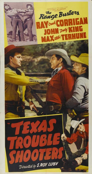 Texas Trouble Shooters Movie Poster Print (27 x 40) - Item # MOVIB53143